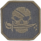 Brigade Qm Morale Patch: Pirate Skull