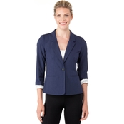 Kensie Heather Crepe Blazer