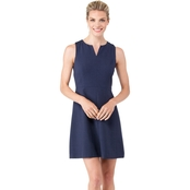 Kensie Heather Crepe Sheath Dress