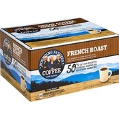 Founding Fathers Coffee French Roast Single Serve Brew Cups 80 pk.