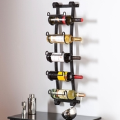 Southern Enterprises Ancona Wall Mount Wine Rack