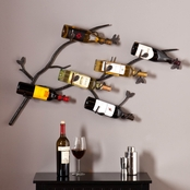 SEI Brisbane Wall Mount Wine Rack