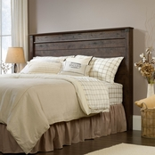Sauder Carson Forge Full/Queen Headboard, Coffee Oak Finish