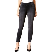 Thalia Sodi Gray Wash Jeggings