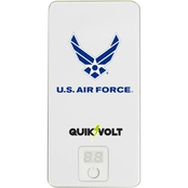 QuikVolt 10,000mAh Military Branch Logo USB Mobile Charger