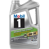 Mobil 1 Advanced Fuel Economy 0W-20 Motor Oil
