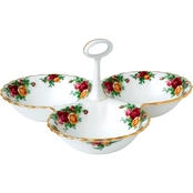 Royal Albert Old Country Roses 5.1 In. Divided Tray