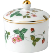 Wedgwood Wild Strawberry 3 In. Jam Pot