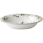 Wedgwood Wild Strawberry 9.75 In. Open Vegetable Bowl Oval