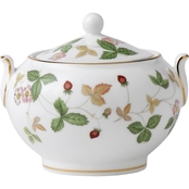 Wedgwood Wild Strawberry Sugar Dish