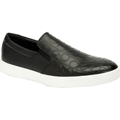 Calvin Klein Ivo Brushed CK Embossed Sneakers