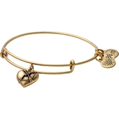 Alex and Ani Cupid Heart Charm Bangle
