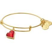 Alex and Ani Charity by Design Heart of Strength Charm Bangle