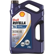 Shell Rotella T6 5W-40 Full Synthetic Heavy Duty Diesel Engine Oil