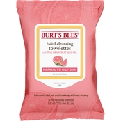 Burt's Bees Pink Grape Towelettes 30 ct.