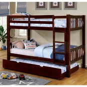 Furniture of America Cameron Bunk Bed