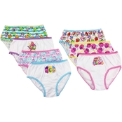 Shopkins Little Girls Panties 7 Pk.
