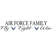 Sayre Family Wall Decal, Army or Air Force