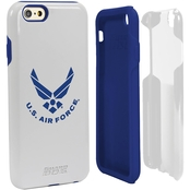 Guard Dog US Air Force Logo Hybrid Case for iPhone 6 with Guard Glass White/Blue