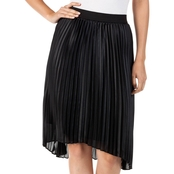 Thalia Sodi High Low Pleated Skirt
