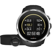 Suunto Spartan Sport Black HR GPS Watch SS022648000