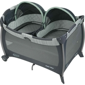 Graco Pack 'n Play Playard Napper with Twins Bassinet, Mason