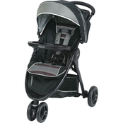 Graco FastAction Fold Sport LX Click Connect Stroller, Banner