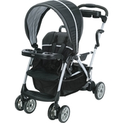 Graco RoomFor2 Stand and Ride Click Connect Stroller, Gotham