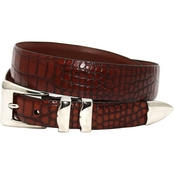Torino Alligator Embossed Calfskin Belt