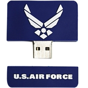 Flashscot US Air Force Wing Star Logo Shape USB Drive 8GB