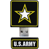 Flashscot US Army Star Logo Shape USB Drive 8GB