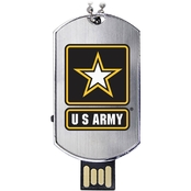 Flashscot US Army Flash Tag USB Drive 16GB