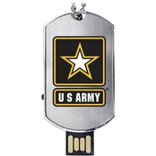 Flashscot US Army Flash Tag USB Drive 8GB