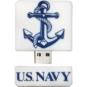 Flashscot US Navy Anchor Logo Shape 8GB USB Drive