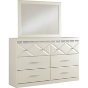 Signature Design by Ashley Dreamur Dresser and Mirror Set
