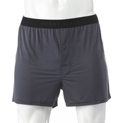 Perry Ellis Solid Luxe Boxer Shorts