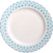 Gibson Home General Store Cottage Chic 10.5 in. Dinner Plate
