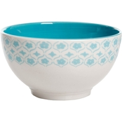 Gibson Home General Store Cottage Chic Dinner Bowl