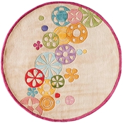 Lil Mo Hipster Modern Sprinkle 5 ft. Round Rug