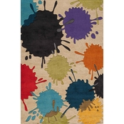 Momeni Lil Mo Hipster Paint Ball Rug