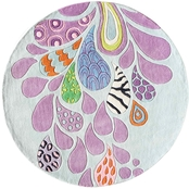 Momeni Lil Mo Hipster Funky Paisley 5 ft. Round Rug