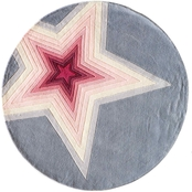 Momeni Lil Mo Hipster Superstar 5 ft. Round Rug