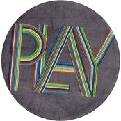 Momeni Lil Mo Hipster Play 5 ft. Round Rug