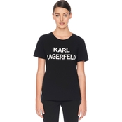 Karl Lagerfeld Karl Lace Letter Tee