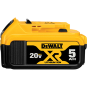 DeWalt DW 20V MAX Premium XR 5.0Ah Li-ion Battery Pack