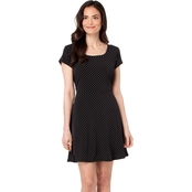 Michael Kors Petite Fit and Flare Dot Knit Dress