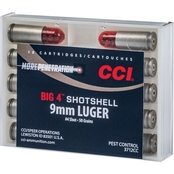 CCI 9mm Shotshell #4, 10 Rounds