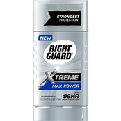 Right Guard Xtreme Antiperspirant Deodorant Stick Max Power Scent