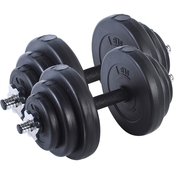 Sunny Health and Fitness 40 lb. Vinyl Dumbbell Set