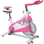 Sunny Health and Fitness Belt Drive Premium Indoor Cycling Bike